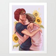 baby boyfriends Art Print