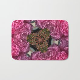 Rose Triangle Bath Mat