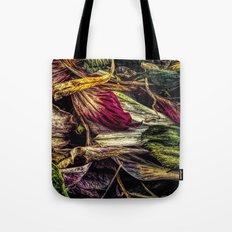 Dried Flower Petals Tote Bag