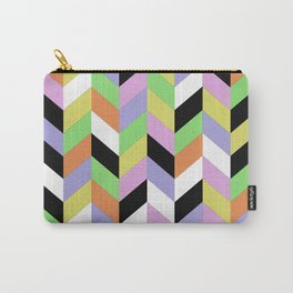 Stacked Colour Carry-All Pouch