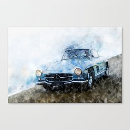 300SL Gullwing Canvas Print