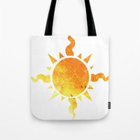 homestuck Tote Bags featuring Light by Darkerin Drachen