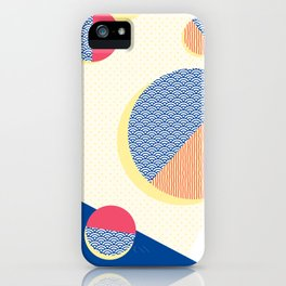 Japanese Patterns 01v iPhone Case