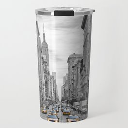 5th Avenue NYC Traffic Travel Mug