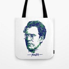 Gustav Mahler Tote Bag