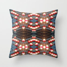 Church candles 5 Throw Pillow