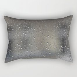 autumn window Rectangular Pillow
