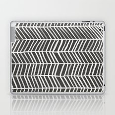 Herringbone – Black & White Laptop & iPad Skin