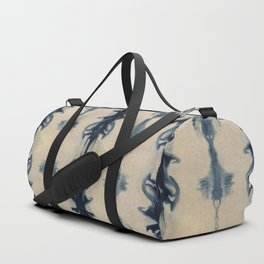 Shibori Flowers Duffle Bag