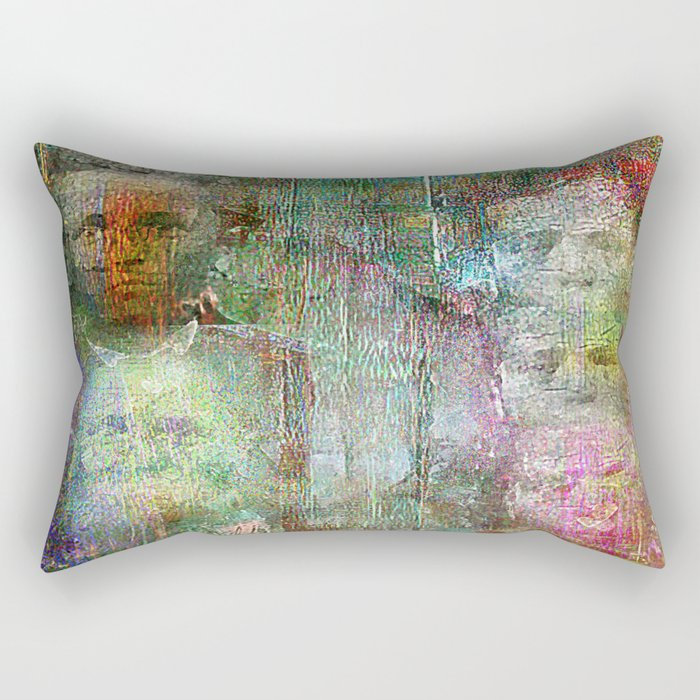 Brothers triptych Rectangular Pillow