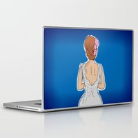bride Laptop & iPad Skins featuring Bride by Gianni Ballerini