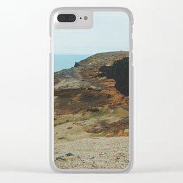 Dyrhólaey III Clear iPhone Case