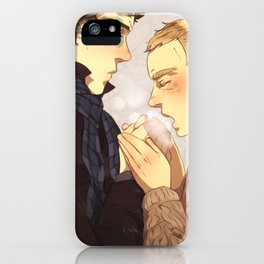 Warm up, Holmes iPhone Case