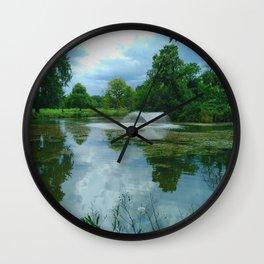 Beauty in the Park - Clissold Park Stoke Newington London Wall Clock