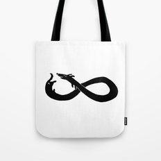 Infinite dachshund Tote Bag