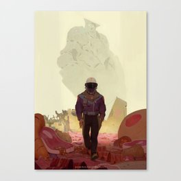 Fornax Void and the Meat King Canvas Print