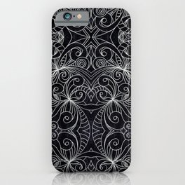 Drawing Floral Doodle G239 iPhone Case