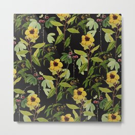 yelow flowers Metal Print