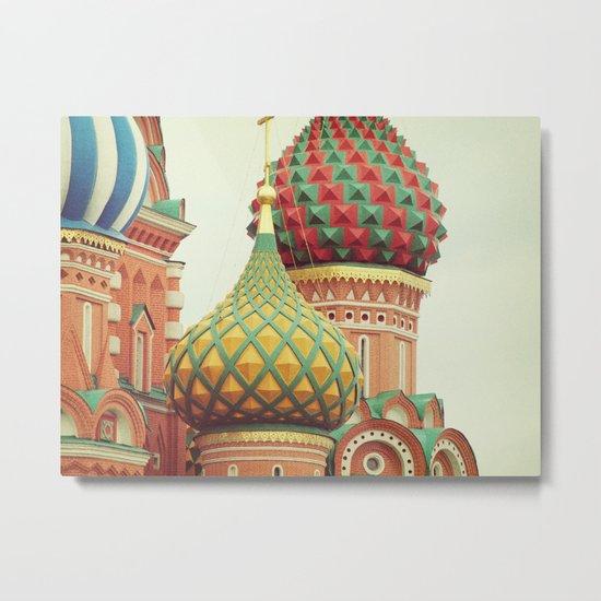 Russian Onion Domes Metal Print