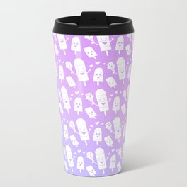 Popsicles Just Wanna Have Fun - Purple Ombre Metal Travel Mug