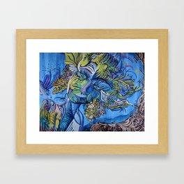 Kodama Gardien Framed Art Print
