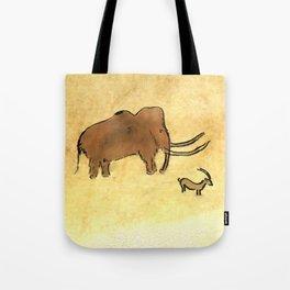 Mammoth and Antelope Tote Bag