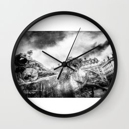 The Knight of Freedom Wall Clock