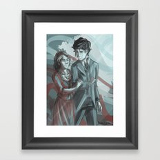 Will & Tessa Framed Art Print