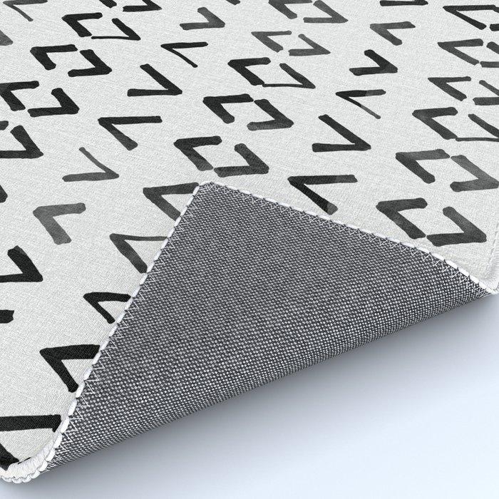 Scandinavian Diamond Pattern Rug