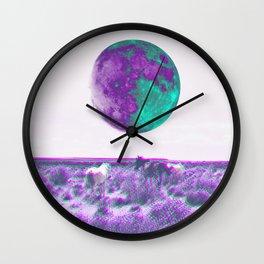Lunar Lands Wall Clock
