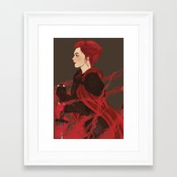 knight Framed Art Prints featuring Knight. by Noble Demons