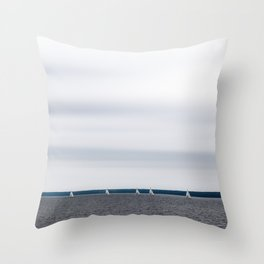Northern mood Throw Pillow