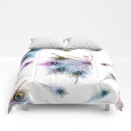 Peacock Dancer Comforters