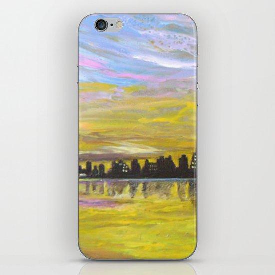 Sky-line iPhone & iPod Skin