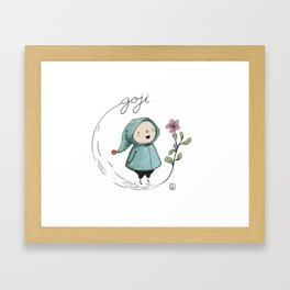 Goji Framed Art Print