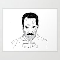 seinfeld Art Prints featuring Seinfeld soup by deathtowitches
