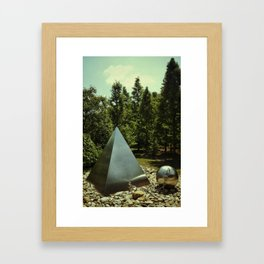 ∆. Framed Art Print