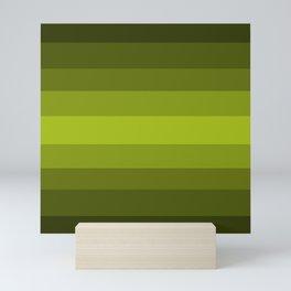 Dark Green Pear - Color Therapy Mini Art Print