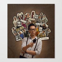 The Good News Poster 6 Canvas Print