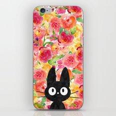 Jiji in Bloom iPhone Skin
