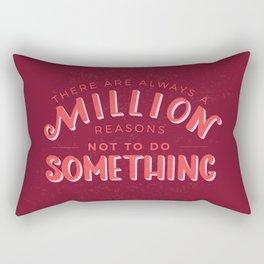 Always a Million Reasons Rectangular Pillow