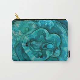 malachite abalone Carry-All Pouch