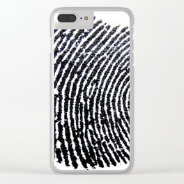 The Finger Print Clear iPhone Case