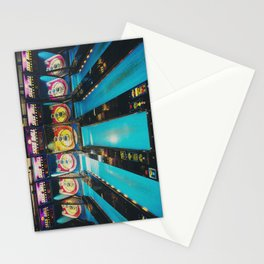 Skee Ball print Stationery Cards