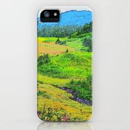 Alaska's Kenai Peninsula - Watercolor iPhone Case