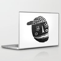 skeleton Laptop & iPad Skins featuring Skeleton by Hadar Geva