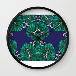 Tropical Honey Wall Clock