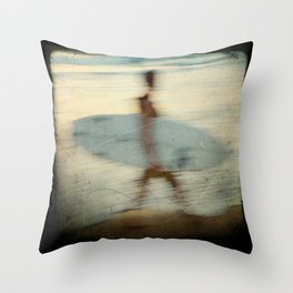 surfer #3 Throw Pillow