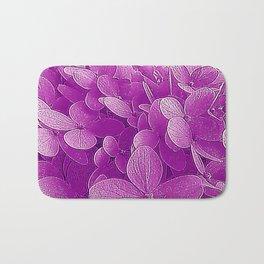 Purple viburnum Bath Mat