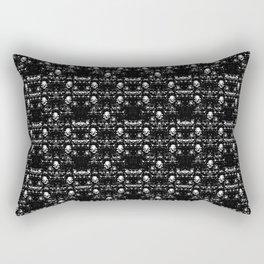 Door Skulls Rectangular Pillow